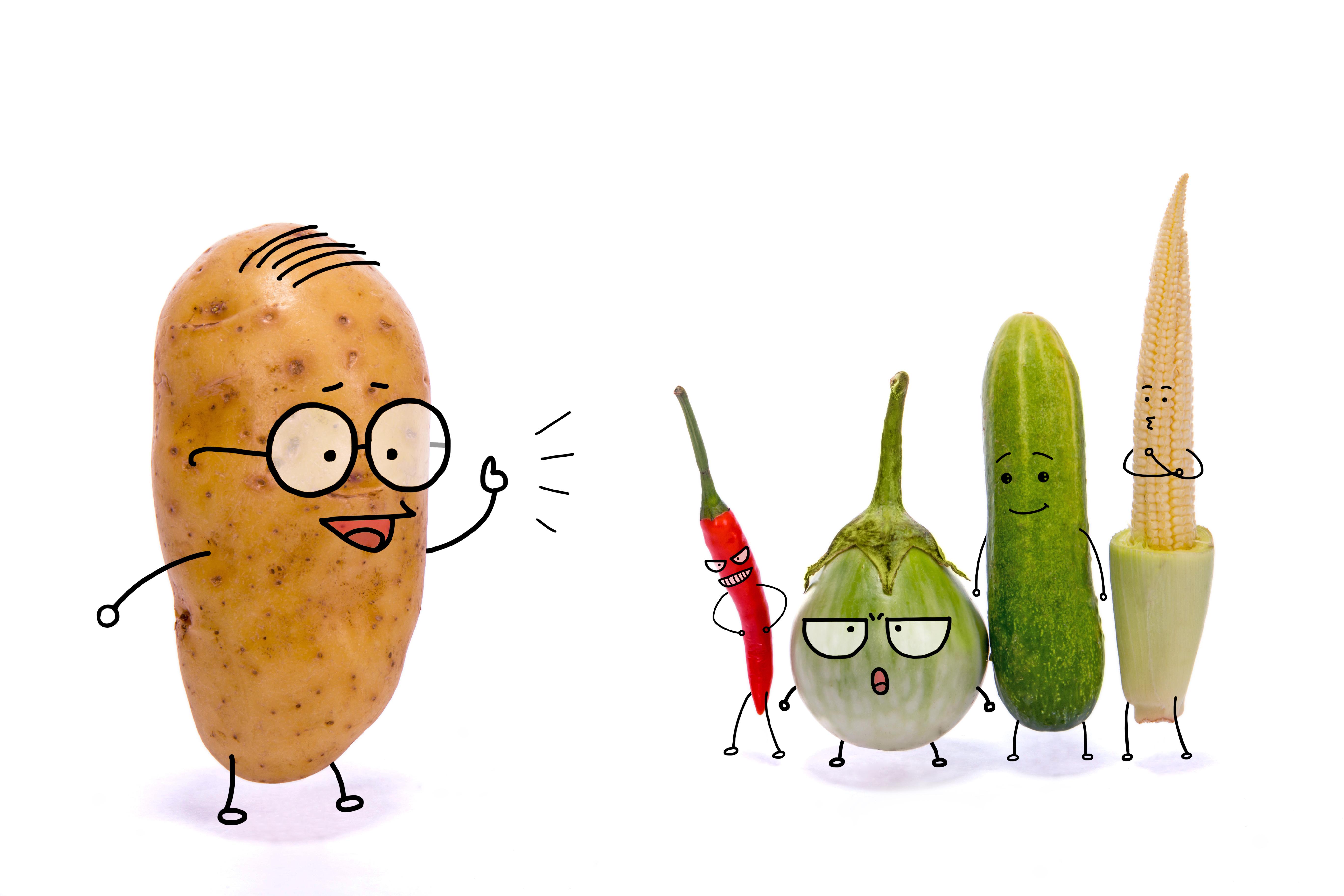 Talking Veggies.