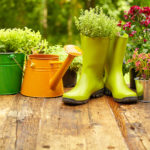 Garden Pots and Boots