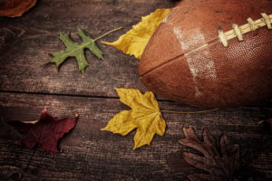 Football with Leaves