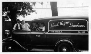 J. Emil Wagner Greenhouses Truck